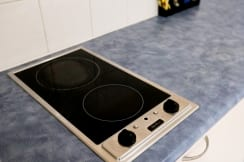 Typical kitchenette stove